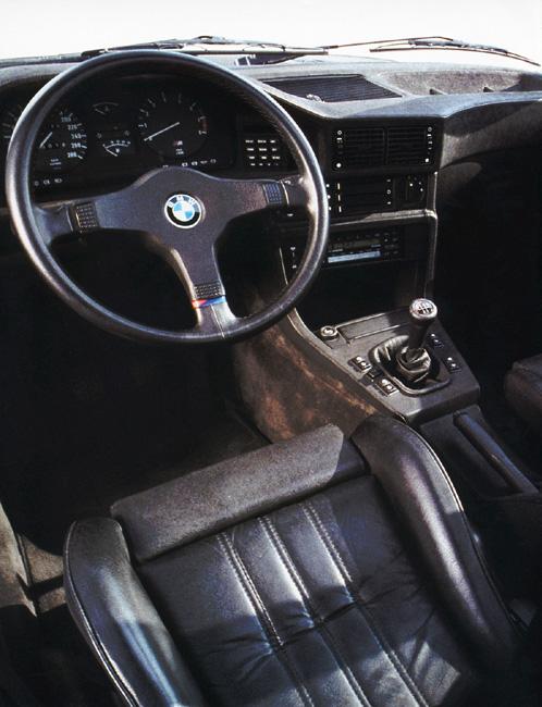 BMW E28 M5 Interior