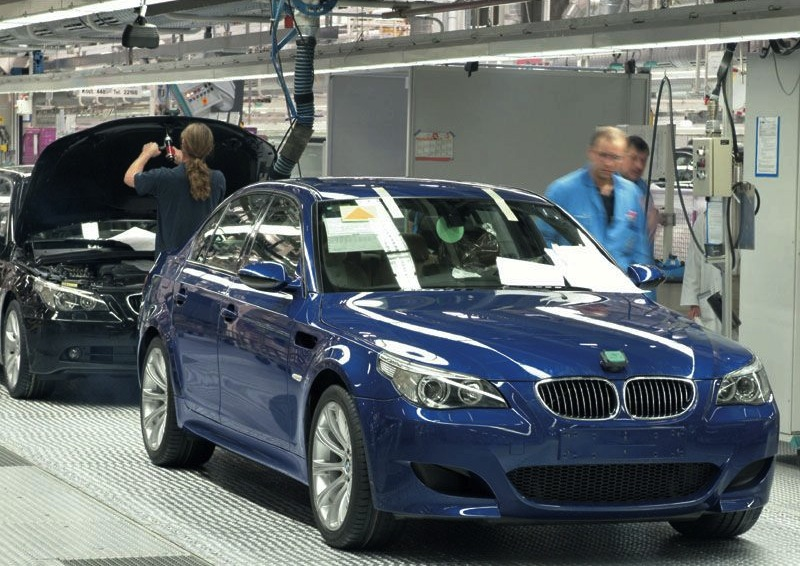 e60 m5 manual production numbers